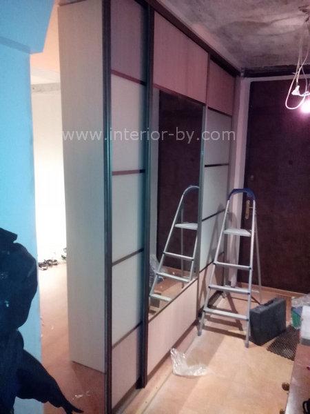 Шкаф купе перегородка коридора и комнаты