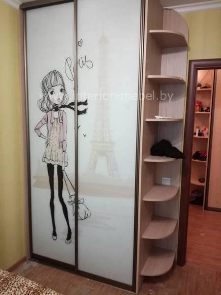 Шкаф купе девочка