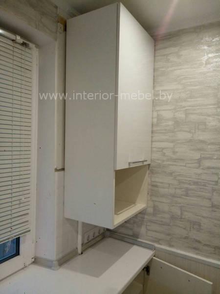 кухня в хрущевке 5 кв.м с холодильником