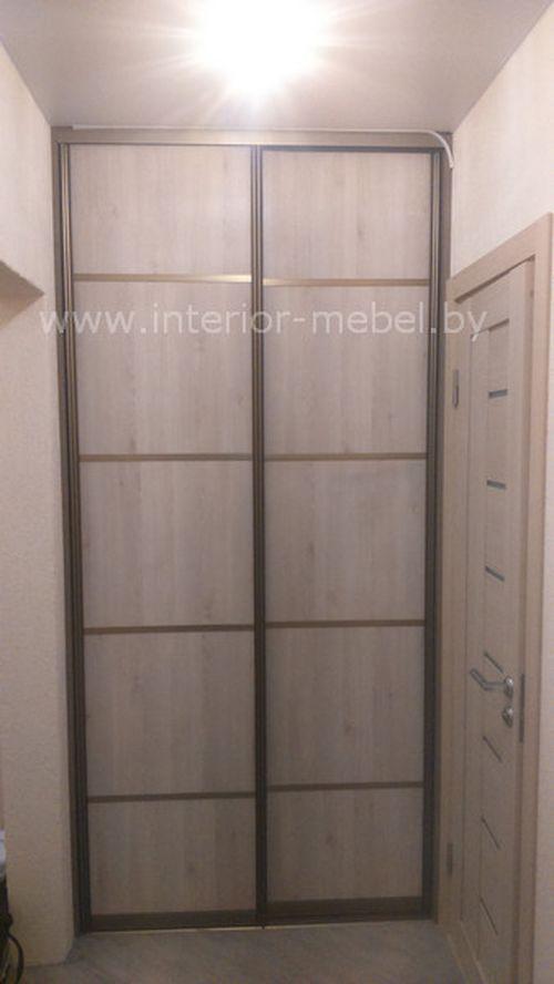 Встроенный шкаф из ДСП эггер